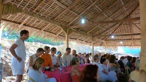 22 dining listening