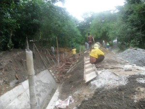 Others 1. MCL construction of canal.